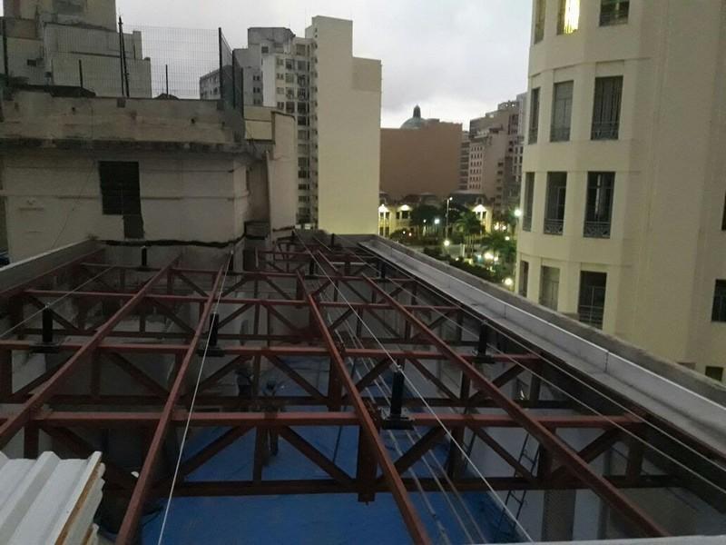 Linha de vida telha zipada